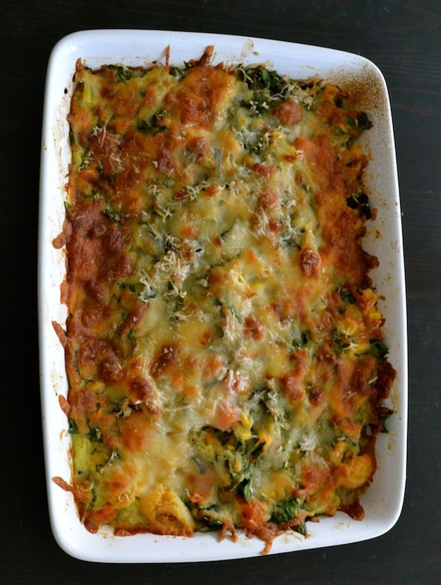 healthy mixed vegetables casserole recipe