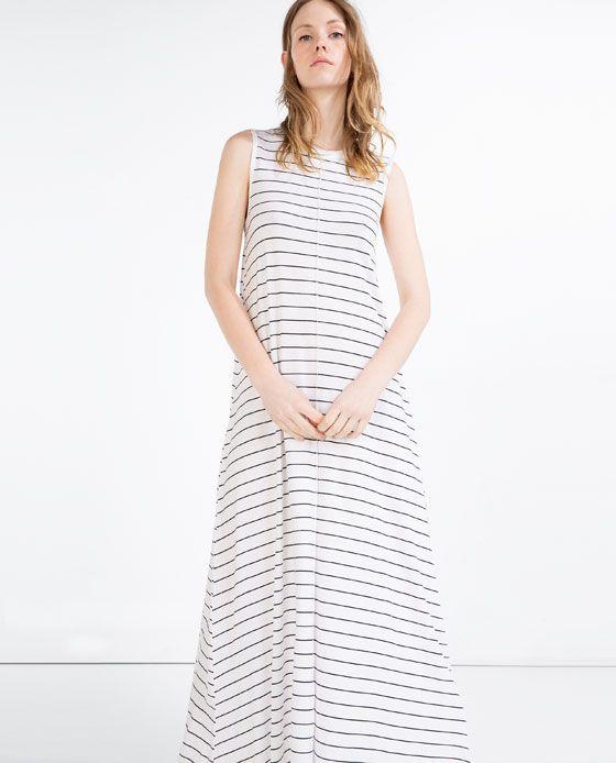 ZARA - WOMAN - LONG DRESS-->Grey Marl