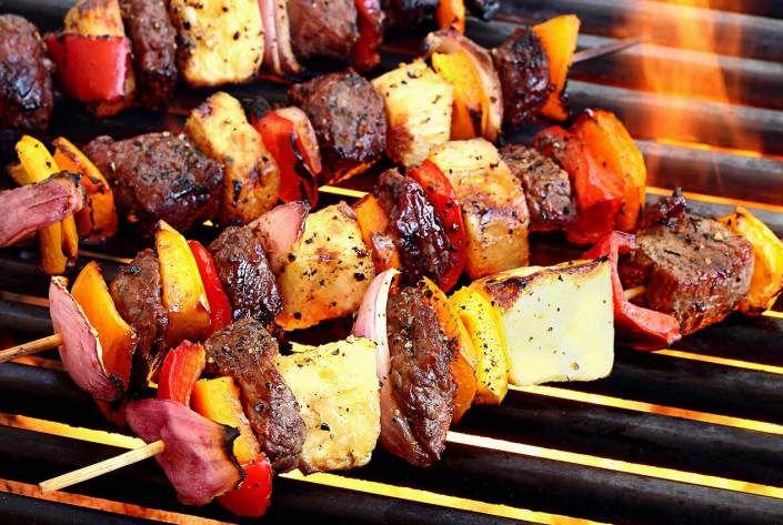 Paleo Teriyaki Beef Shish Kabobs (sub compliant teriyaki sauce) - Paleo Newbie