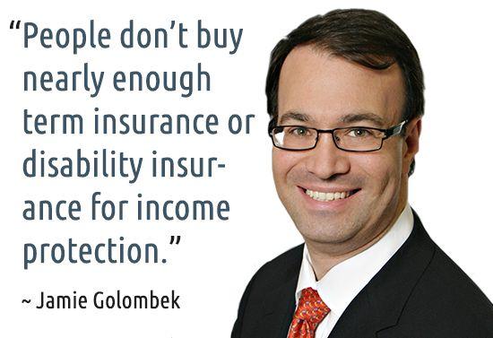 ~ Jamie Golombek #quotes #insurance