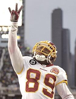 Santana Moss (to: Sean Taylor) The U