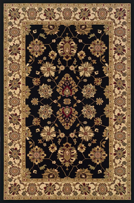 Sphinx By Oriental Weavers Knightsbridge Collection 122K5 Traditional Black Rug
