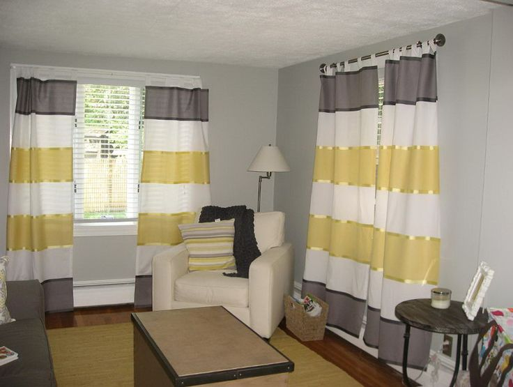 best 25 yellow and grey curtains ideas on pinterest. Black Bedroom Furniture Sets. Home Design Ideas