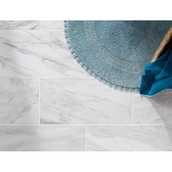 Arabescato Carrara 12 X 24 Marble Stone Look Wall Floor Tile In 2020 Tile Floor Carrara Bathroom Flooring