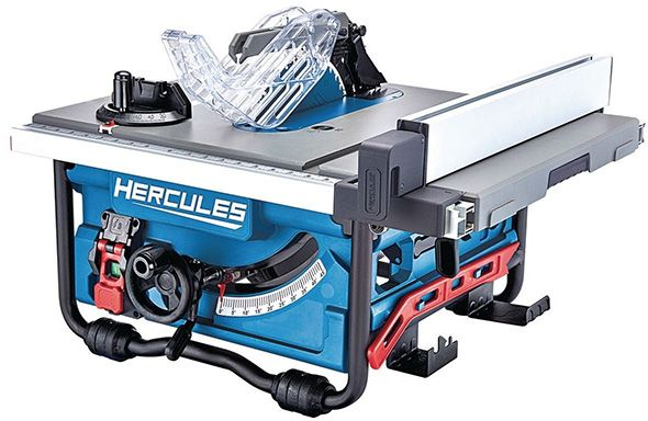 New Harbor Freight Hercules Portable Table Saw Portable Table