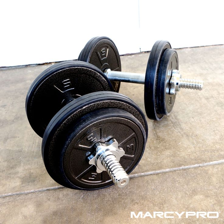 Take your home gym strength training routine to the next level with the Marcy Pro's Weight Plates. What's your go to strength training exercise?