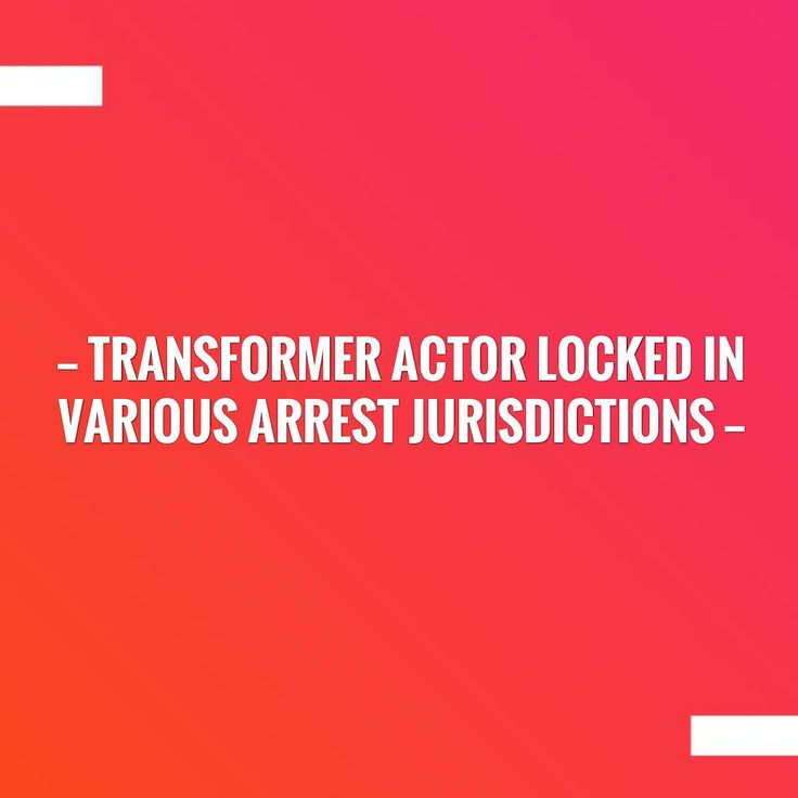 Check out my new post! transformer actor locked in various arrest jurisdictions :) http://feedproxy.google.com/~r/tonygreene113/AJqI/~3/quHT-jom2to/?utm_campaign=crowdfire&utm_content=crowdfire&utm_medium=social&utm_source=pinterest