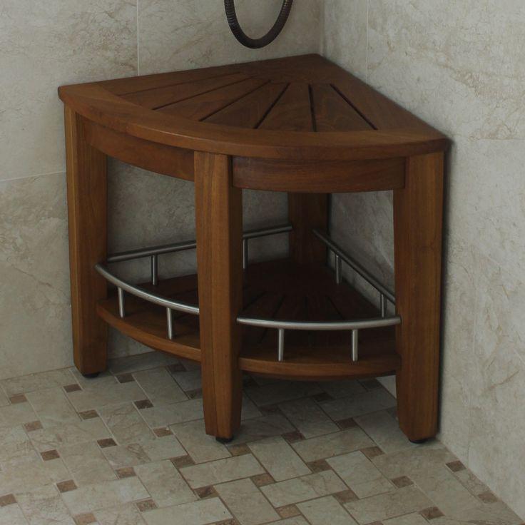 Best 25+ Shower bench teak ideas on Pinterest   Wood shower bench ...