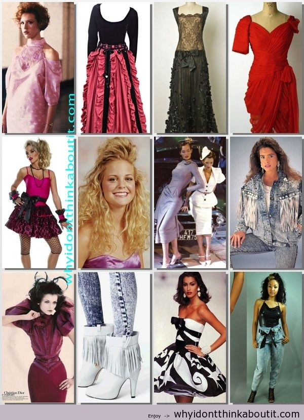 fashion style � 1980 to 2000 fashions of my past life