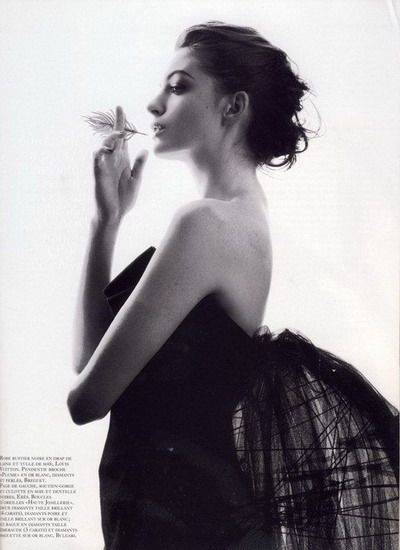 Anne Hathaway, French Vogue September 2008