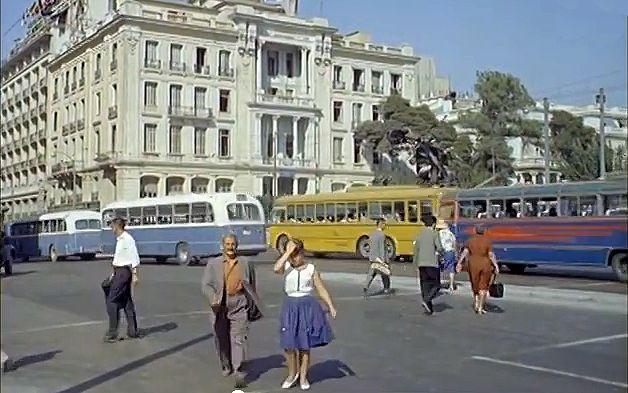 Μια υπέροχη βόλτα στην Αθήνα του 1961