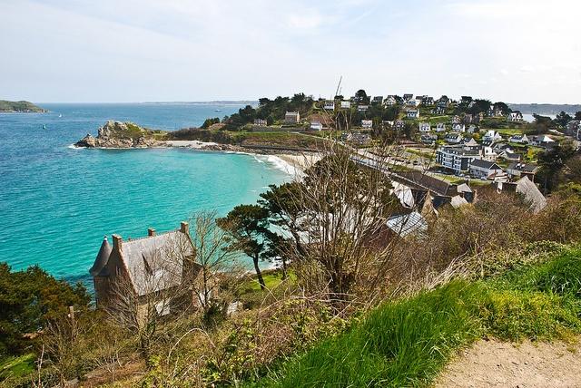A hidden treasure in Northern France- Plage de Trestignel, Perros Guirec, Bretagne
