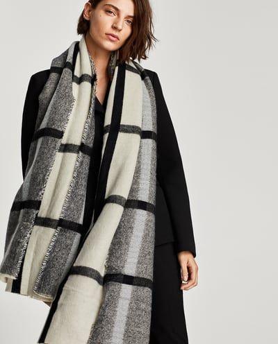 Maxi sjaal Zara