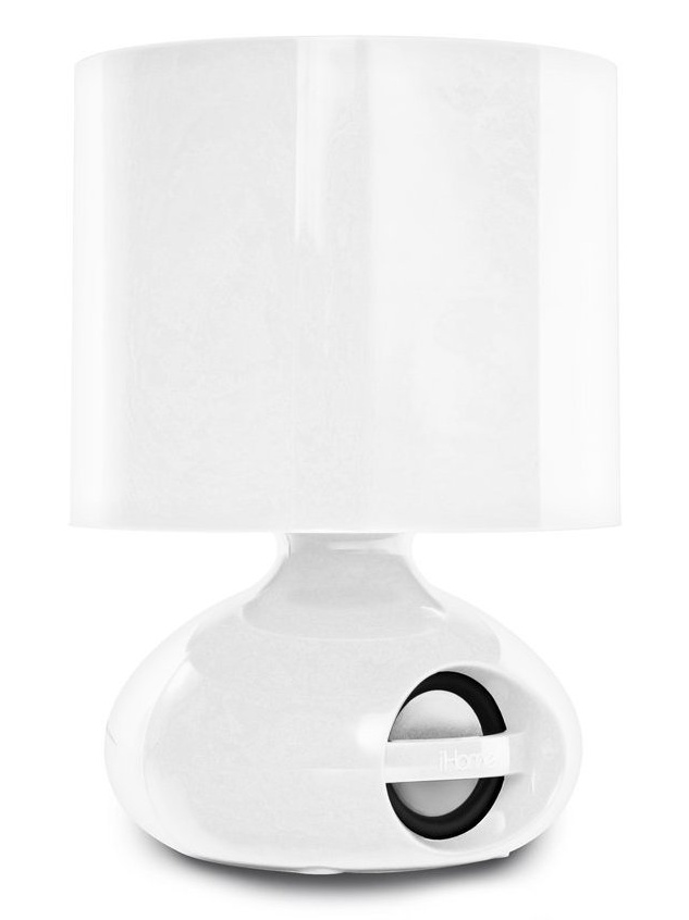 iHome Lamp and Speaker Dock for smartphones and tablets