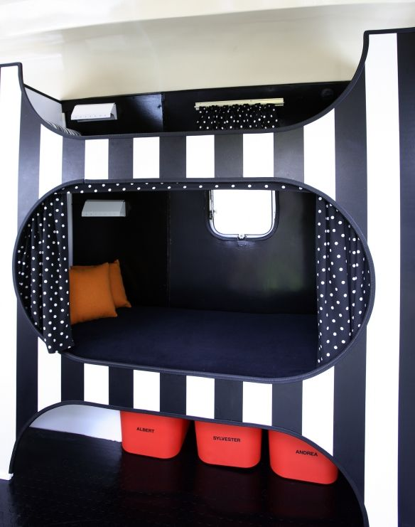 Cool bunkbed...maybe not black&white though?