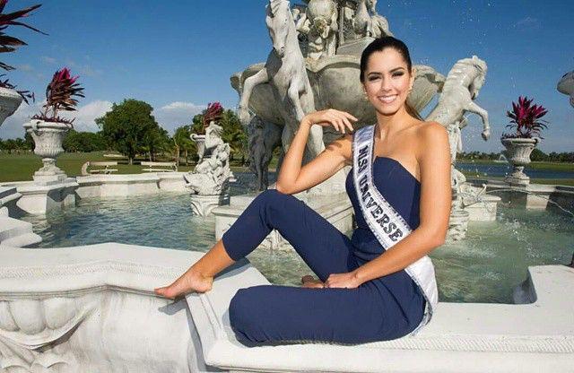 Primera sesión fotográfica Paulina Vega Miss Universe