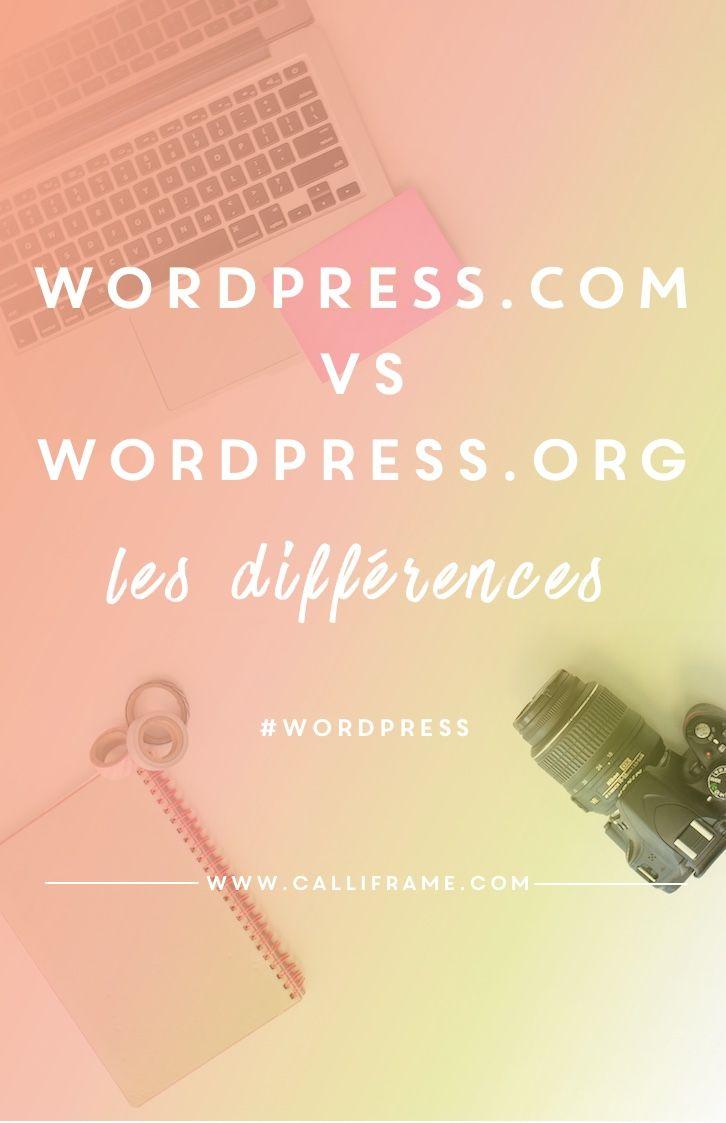 Comprendre les différences qui existent entre wordpress.com et wordpress.org et faire le point sur la plateforme qui nous convient le mieux.