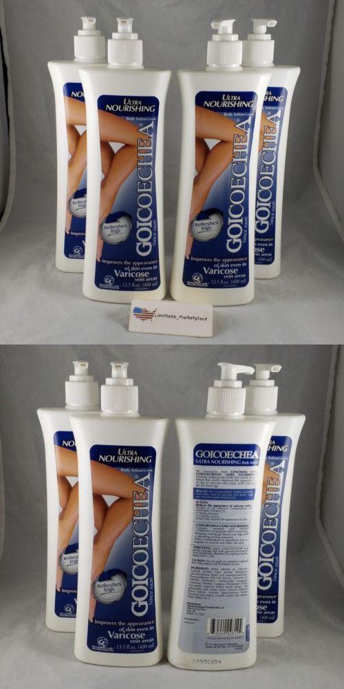4 Goicoechea Body Lotion Ultra Nourishing Refreshes Legs 135