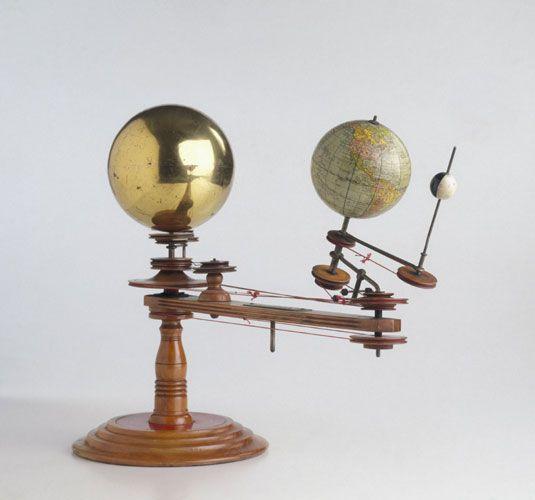 Orrery Planetary Model By The Laing Planetarium Company