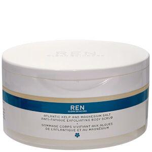 REN Skincare Atlantic Kelp and Magnesium Salt Anti-Fatigue Exfoliating Body Scrub 150ml Health & Beauty   Free Shipping   Lookfantastic