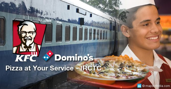 IRCTC KFC Partner For Meal Delivery on Trains