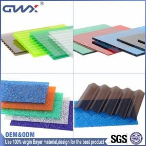 chinagwxpc.com polycarbonate sheet price UV Protection Lexan Polycarbonate Sheet Price Roofing for greenhouse, swimming pool, shopping malls, commercial streets