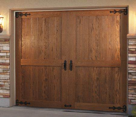 91 best images about clopay faux wood garage doors on for Faux wood door