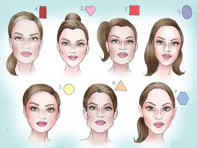 هل سبق وقمت بتحليل شخصيتك من خلال وجهك Sac Kesim Modelleri Kontur Makyaj Yuzler