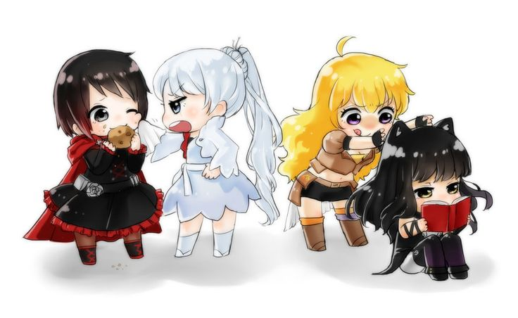 Rwby Chibi by Monotsuki on DeviantArt