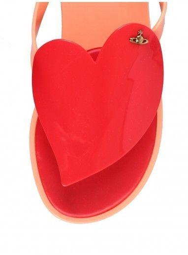 New Vivienne Westwood Melissa Flip Flops T-Strap Sandals Anglomania 35 36 Logo #VivienneWestwood #FlipFlops #Casual