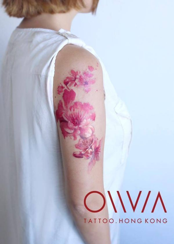 Cherry Blossom Tattoo Japanese Blossom Tree Tattoo Design February 2021 Cherry Blossom Tattoo Blossom Tree Tattoo Cherry Tree Tattoos