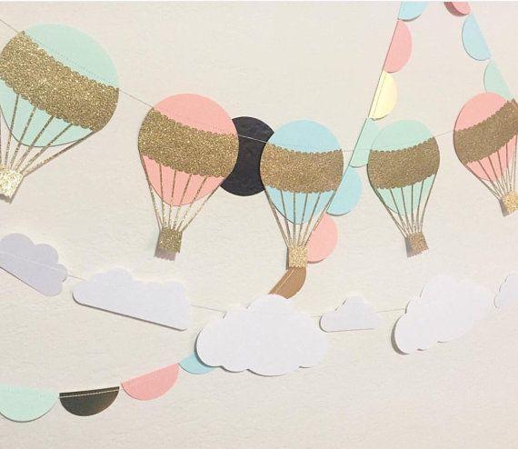 Ghirlanda di palloncino scintillante aria calda accoglienza colori Custom