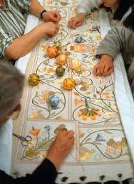 Portugal. Castelo Branco. Aprender as técnicas da seda e do linho em Castelo Branco