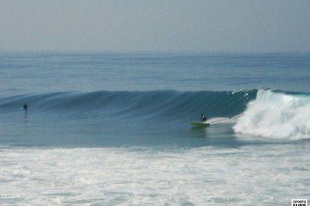 Winter waves Oporto south spot
