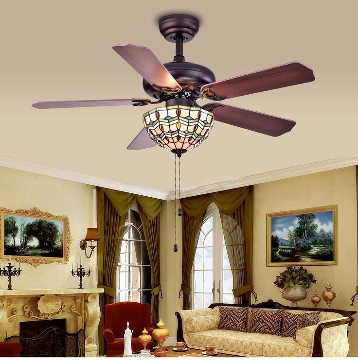 Peachey 3 light bowl ceiling fan light kit