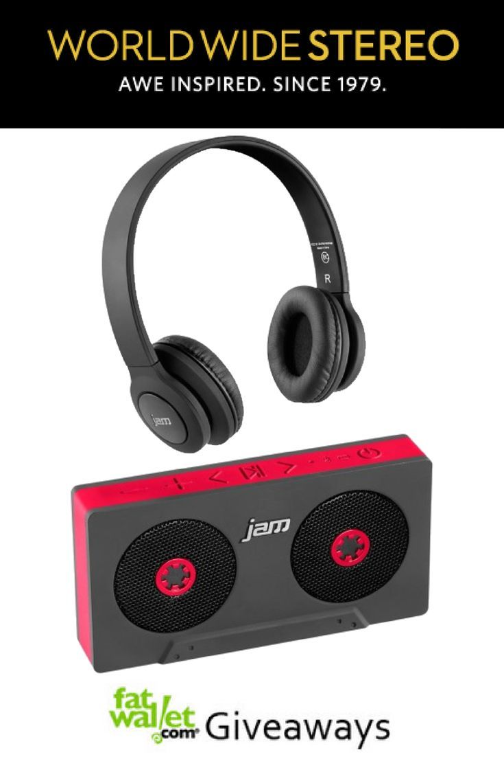 World Wide Stereo Giveaway: Wireless Speaker and Bluetooth Headphones - See more at: http://www.fatwallet.com/blog/world-wide-stereo-giveaway-wireless-speaker-and-bluetooth-headphones/#sthash.MDzEdFtm.dpuf