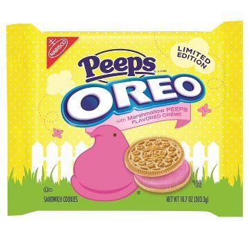 Nabisco Oreo Peeps Limited Edition 10.7oz