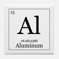 10 best products i love images on pinterest periodic table elements 13 aluminum tile coaster for urtaz Gallery
