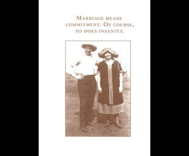Marriage Means Commitment Anniversary Card