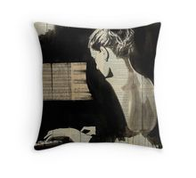 her sonata Throw Pillow