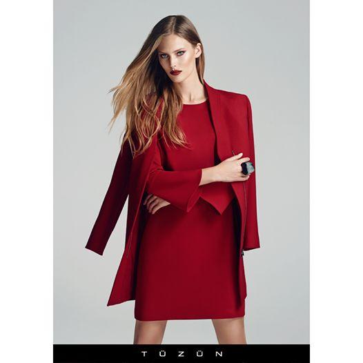 Gökkuşağının sınırını belirleyen kırmızı, Tüzün'de sınırsız seçeneklerle... #Tuzun #TuzunGiyim #kırmızı #trend #fashion #moda #kombin #style #stil