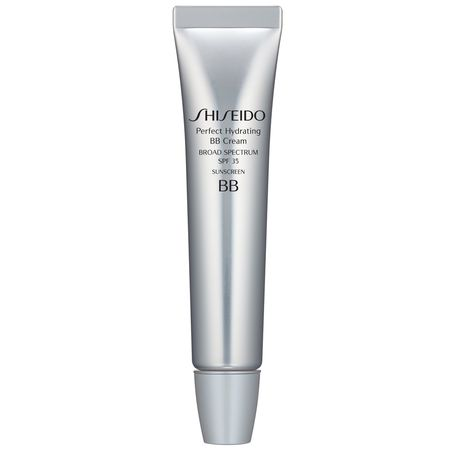 Proporciona un tono radiante, saludable y uniforme a la piel - Perfect Hydrating BB Cream - Shiseido