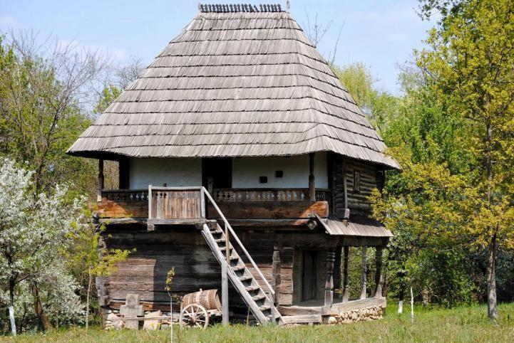 Gorj 1802 Romania traditional romanian house rural eastern europe