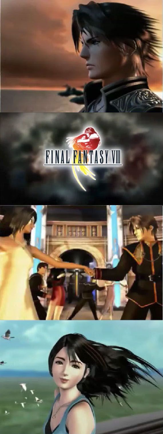 Finalfantasy viii at its heart is a love story between rinoa and squall