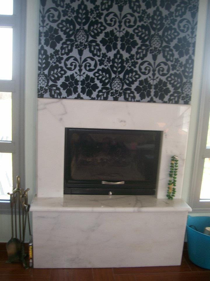 """#Fireplace#marble """"Finikas"""""""