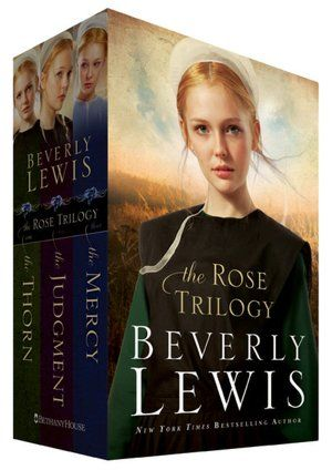 The Rose Trilogy Boxed Set  by Beverly Lewis  So far I've only read The Thorn, but can't wait to start on the next one.