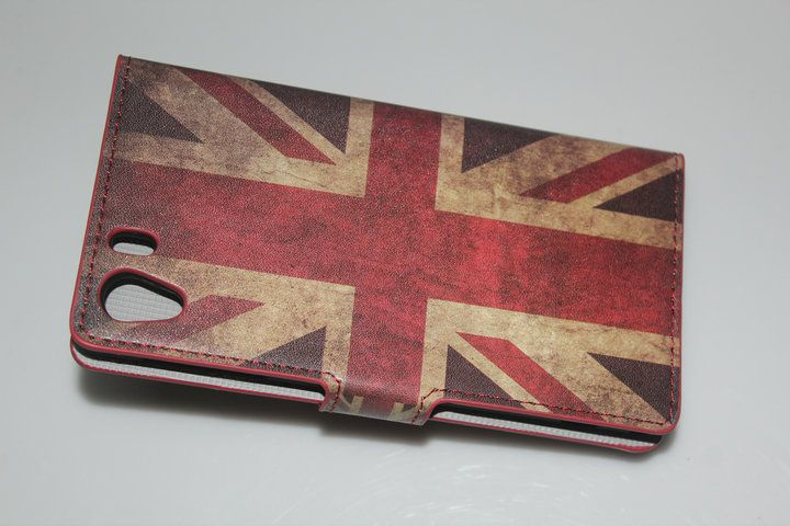 [SXZ-097-3]Leather Case for Sony Xperia Z