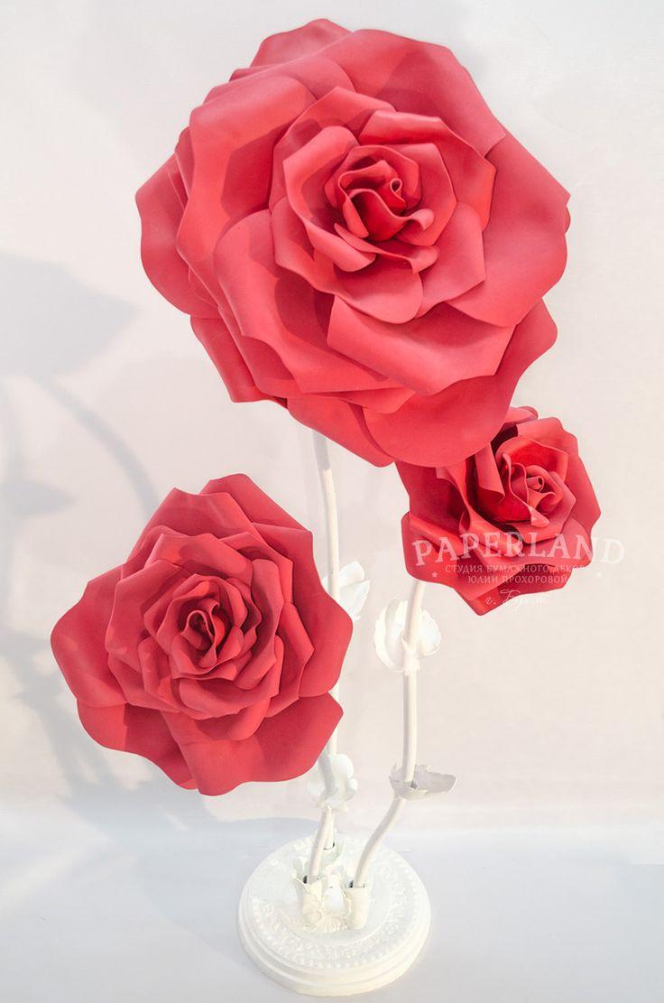 Красные розы на свадьбу