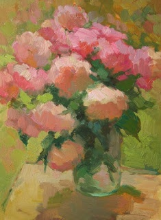 Roses Late Afternoon | Kathryn Townsend Painting Studio