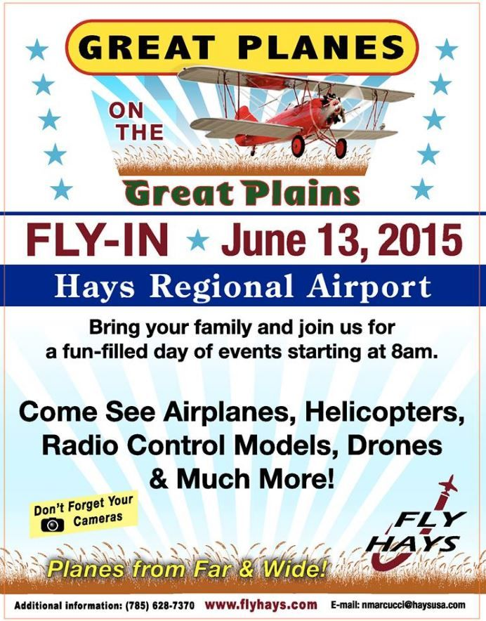Great Planes on the Great Plains -- Fly-In, Hays, KS